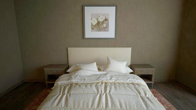 עיצוב דירה קטנה - חדר שינה מינימליסטי
